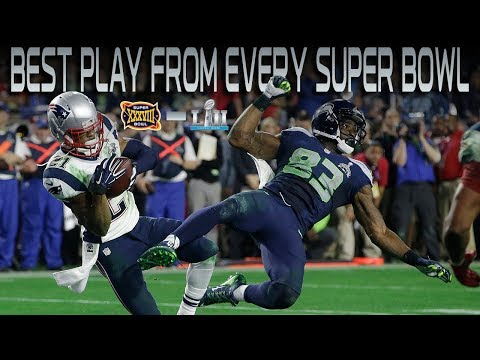 Best Play From Every Super Bowl Over the Last 15 Years!