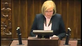 Aldona Młyńczak - wystąpienie z 19 marca 2015 r.