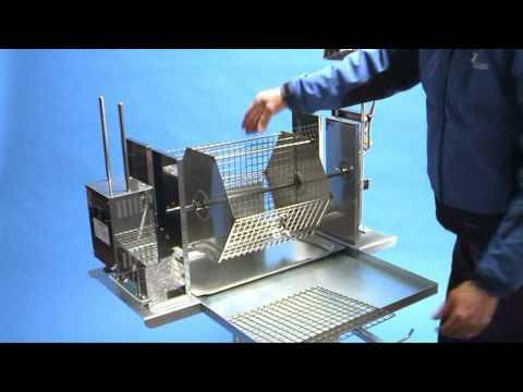 Griglia girevole per barbecue idea ferro youtube for Griglia per barbecue bricoman