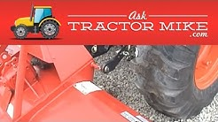 How to Adjust Tractor Three Point Stabilizers