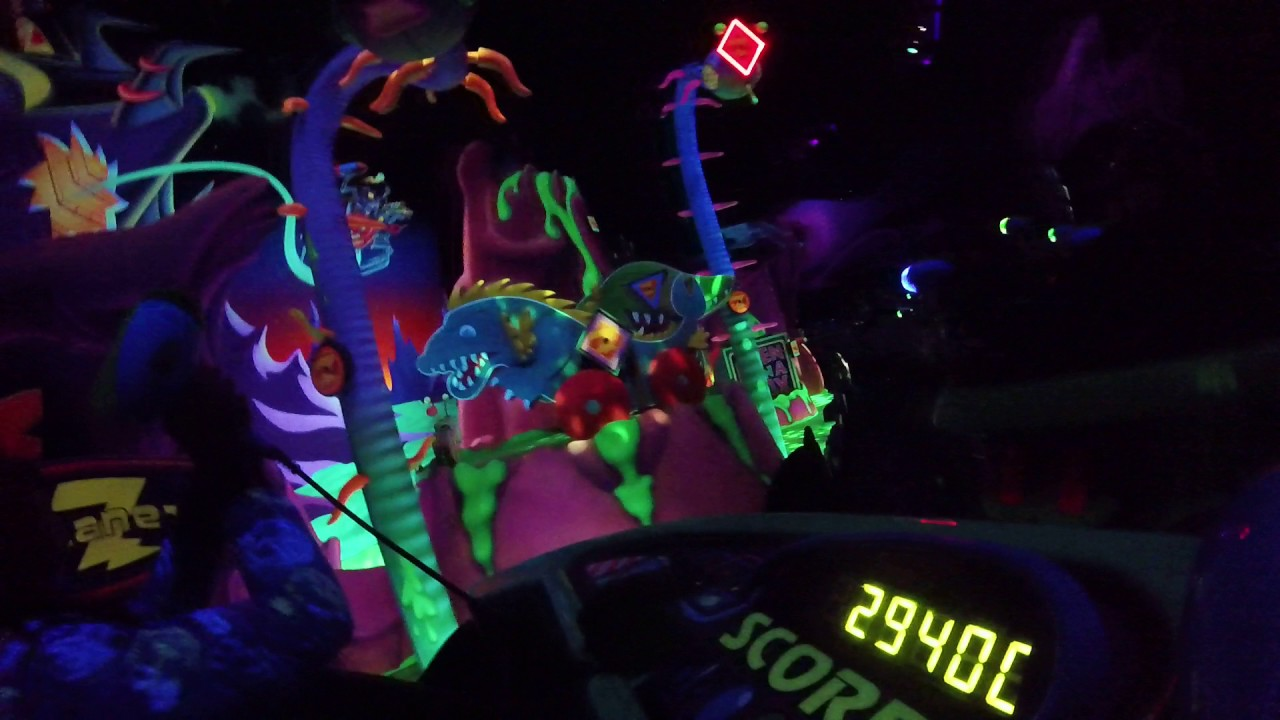 Laser Tag At Disneyland