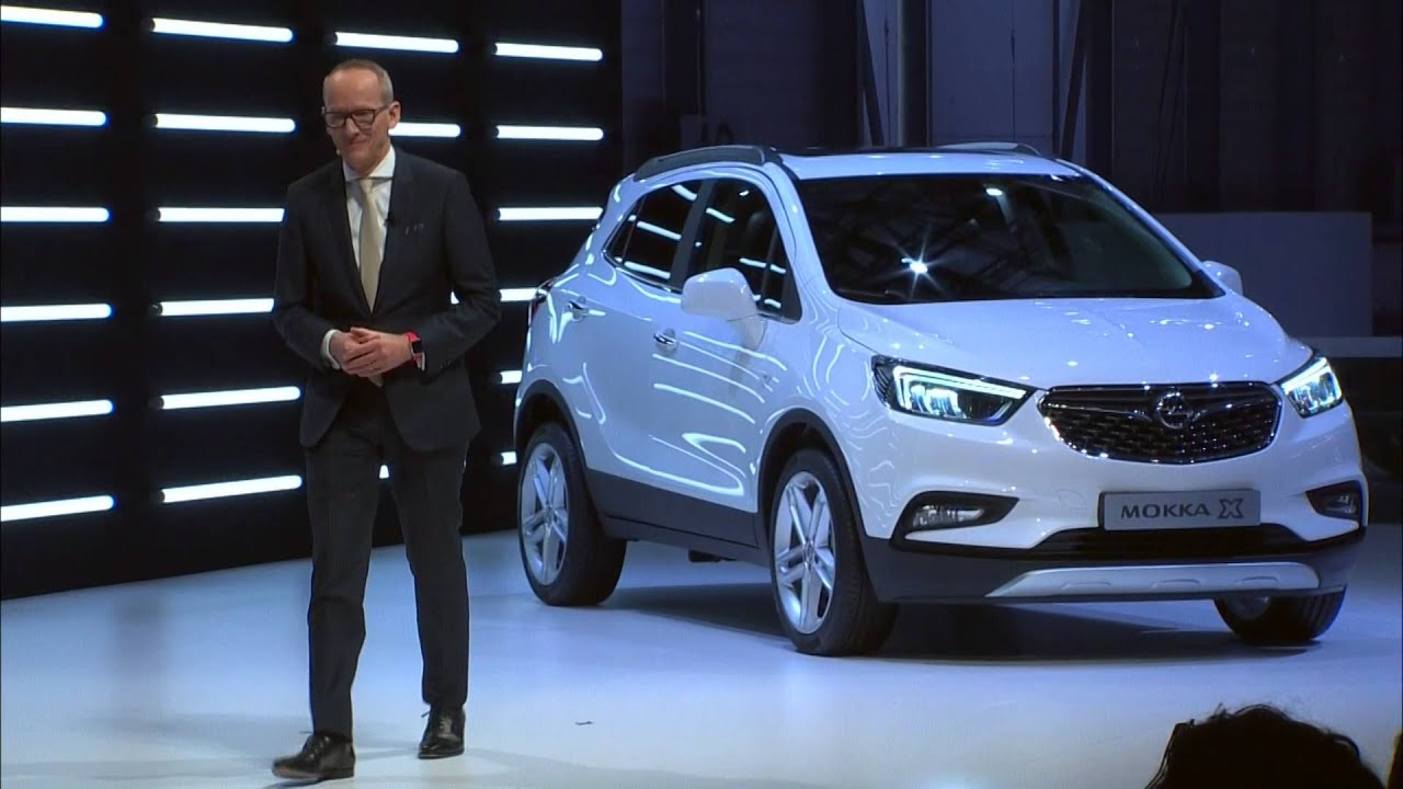 adam opel ag world premiere opel mokka x opel at geneva motor show 2016 automototv youtube. Black Bedroom Furniture Sets. Home Design Ideas