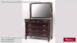American Antique Dresser Empire Cabinets And Case-pieces