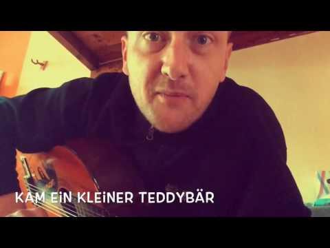 Kam ein kleiner Teddybär, Kinderlied mit Gitarre, einfache Akkorde (D+A)