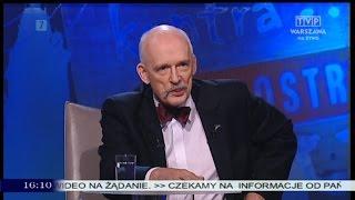 Młodzież kontra 508: Janusz Korwin-Mikke (Kongres Nowej Prawicy) 14.12.2014