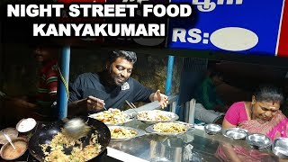 Night Street Food at Kanyakumari