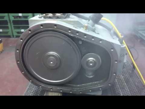 Carrier 06NA Screw Compressor Ağır Çekim Test Videosu