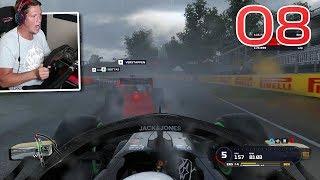 F1 2019 Career Mode - Part 8 - Rainy, Raging, Wreckfest