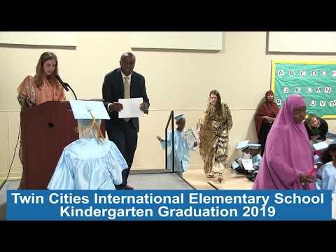 Twin Cities International Elementary School Kindergarten Graduation 2019