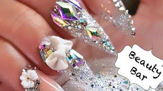 2020 glitter nail art 💎 compilation