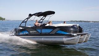 Godfrey Pontoon Boats | Aqua Patio 250 Express | Rough and Salt Water Pontoons