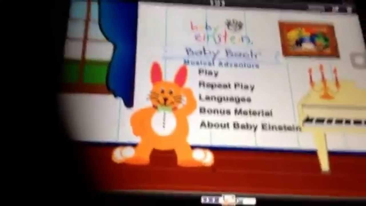 Baby Einstein Baby Noah Dvd Menu Opening To Baby Bach 2...