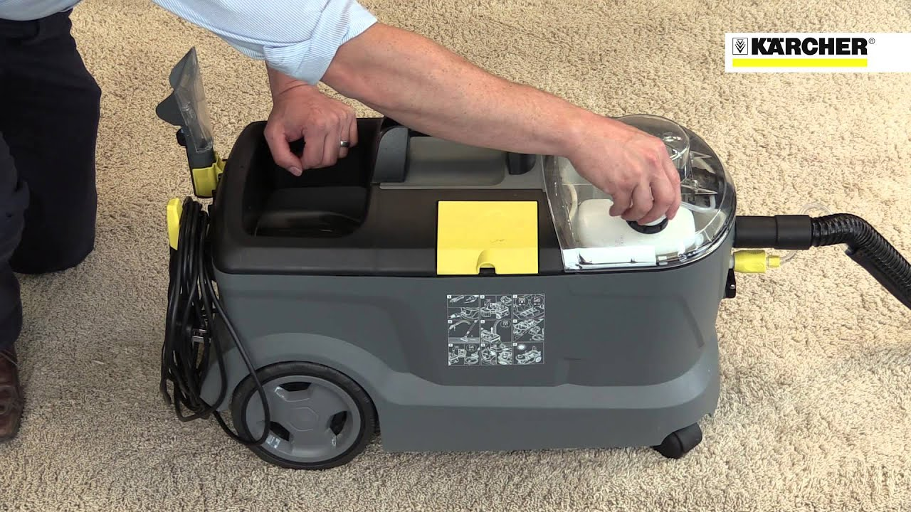 Karcher Puzzi 10 1 Amp 10 2 Commercial Spray Extraction