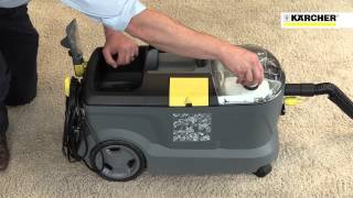Karcher PUZZI 10/1 Commercial Spray Extraction Carpet & Upholstery Cleaner