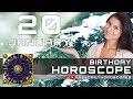 January 20 - Birthday Horoscope Personality