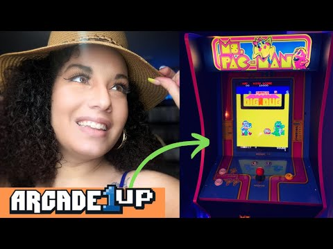 Arcade1up Review/Ms. Pacman!! #Arcade1up #retrogaming from ZapCristal