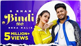 Bindi(HD Video) :G Khanft Neha Malik   Garry Sandhu  Latest Punjabi Songs 2021   New Songs 2021