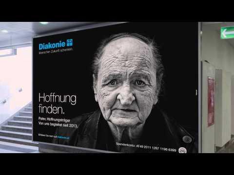 """Diakonie Kampagne """"Hoffnungsträger"""" 2014"""