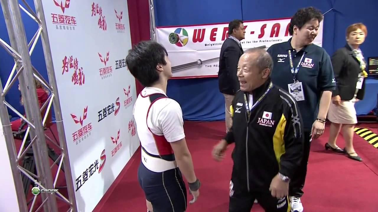 2013世界舉重錦標賽 女子58公斤級 郭婞淳摘金 - YouTube