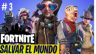 Fortnite 🌳 Stony Forest 🌳 Save the World in Spanish. Chapter 3