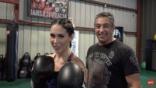 Do Jiu-Jítsu ao MMA: Bella Falconi visita Bruno Malfacine e Rodolfo Vieira