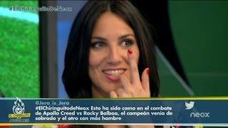 El piropo de un espectador a Irene Junquera
