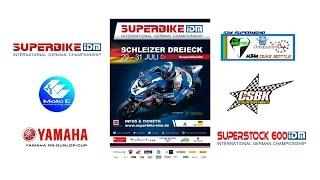 82. Int. Schleizer Dreieck Rennen 2016 inkl. Superbike IDM, CSBK, Yamaha R6 Cup, MotoE Racing, ...