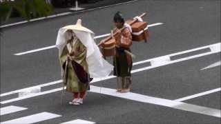 京都三大祭りの中世婦人列から 豊臣秀吉の妻で秀頼の母、淀君と源義経の...