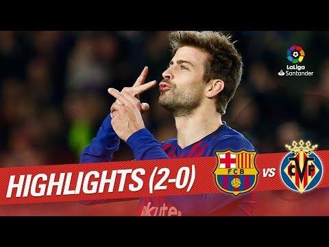 Highlights FC Barcelona vs Villarreal CF (2-0) thumbnail