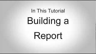 II. Building a Report - Salesforce.com Training - Administration