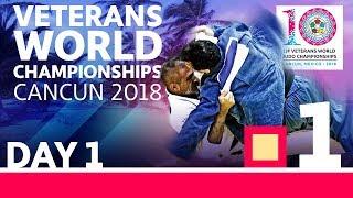 Veterans World Championships 2018: Day 1