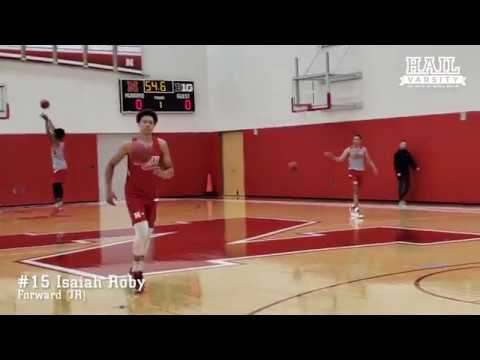 Nebraska Basketball: Sights and Sounds from the Huskers' First 2018-19 Practice