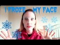 how I froze my face with the garnier hidrabomb mask