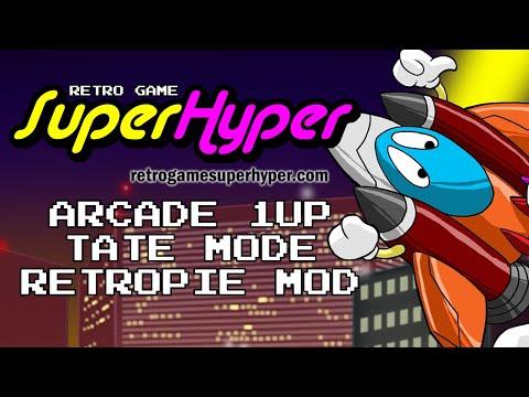 Arcade 1up Tate Mode Retropie Mod from Retro Game SuperHyper