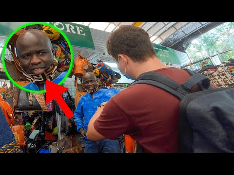 White Guy Shocks African Market by Speaking Their Language