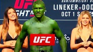История UFC - Элементы Шоу И Красивые Девушки