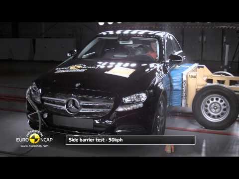 Euro NCAP Mercedes Benz C class 2014 Crash test