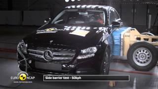 Euro NCAP   Mercedes Benz C-class   2014   Crash test