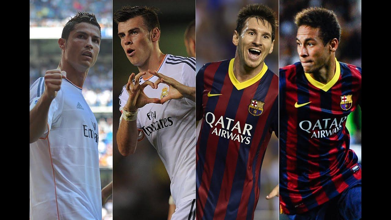 Самые быстрые футболисты неймар