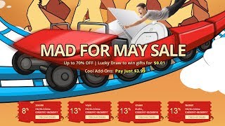 Майская распродажа от GearBest!