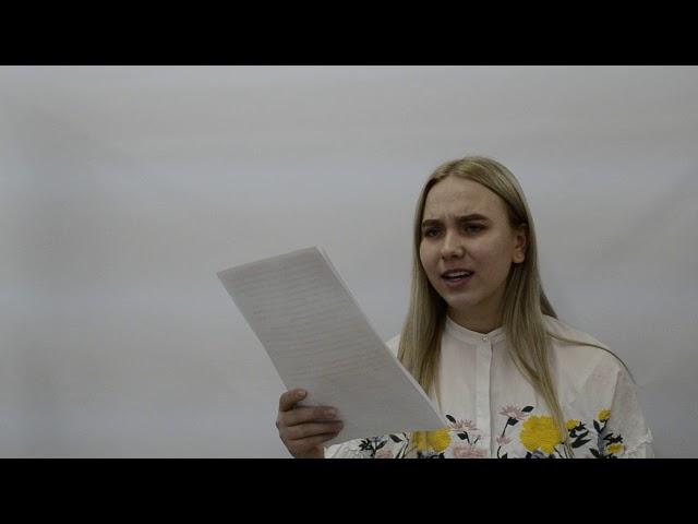 Изображение предпросмотра прочтения – ПолинаДаргель (Князева) читает произведение «Повесть о Сонечке» М.И.Цветаевой