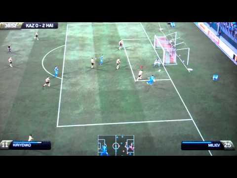 Fifa 12 DLC Euro 2012 Expedition Mode Part 14 - Kazakhstan v Haigh FC