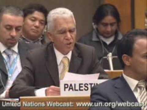 Palestinian Envoy To UN: Israelis Acting Like Nazis