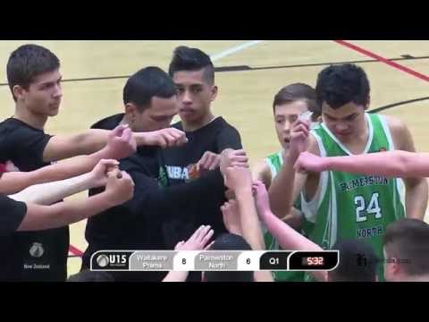 2016 U15 Boys National Championships | Quarter Final 1 | Auckland Counties V Palmerston North