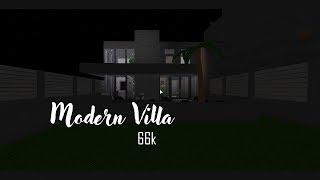 ROBLOX: Bloxburg; Modern Villa 66k