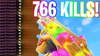 766 KILLS.. WORLDS MOST KILLS in BLACK OPS 4! (WORLDS MOST KILLS in COD HISTORY!) - COD BO4