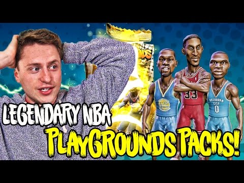 We Pulled 3 INSANE Legends! HUGE NBA Playground Pack Opening