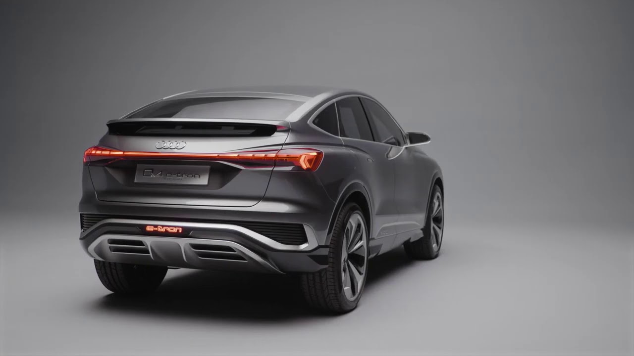 Audi Q4 Sportback e tron concept - YouTube