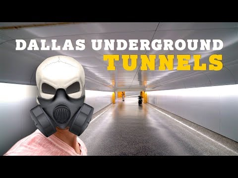 Exploring Dallas Underground Tunnels!!! (A Texas Vloggers Dream!)