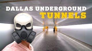 Exploring Dallas Underground Tunnels!!! (A Texas Vloggers Dream!)